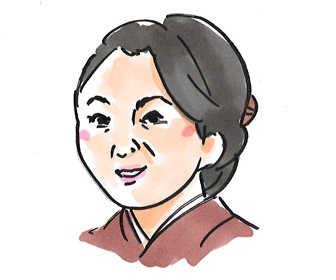 松坂慶子(西郷満佐/さいごうまさ役)